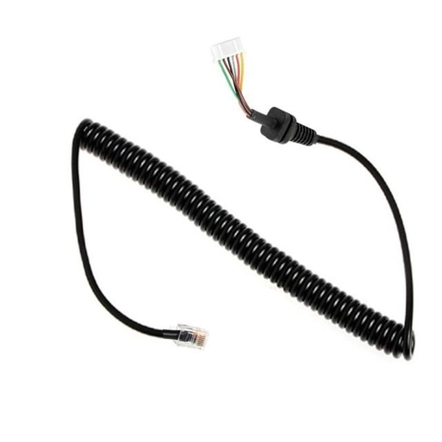 yidaton hand microphone mic cable cord for yaesu ft 1807 ... pc66xl uniden mic wiring diagram ft 8900 mic wiring #12