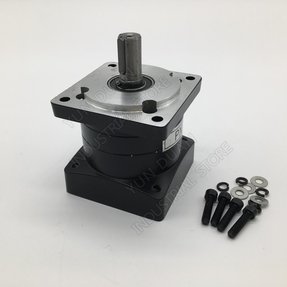 10 1 Ratio Nema34 86mm Planetary Gearbox 10 Speed Reducer Shaft 14mm Carbon steel Gear for