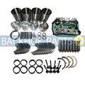 Капитальный ремонт двигателя Ремонтный комплект для Komatsu 500PD D20P FD20 FD20T FD25 FD30 FD30T P60