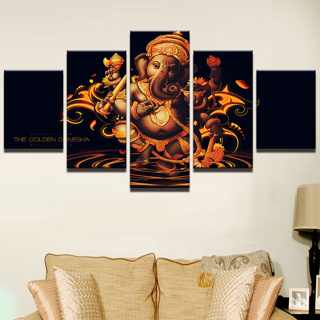 Canvas Painting Wall Art Frame Home Decor Pictures 5 Pieces India