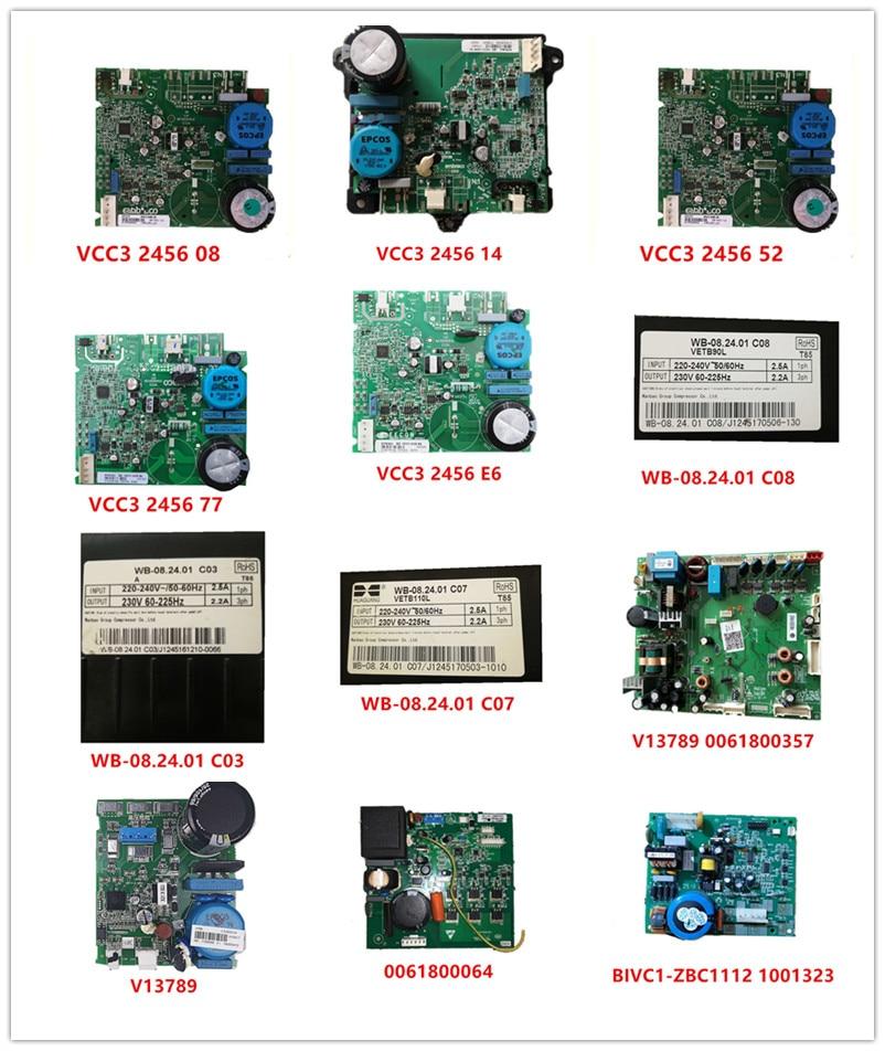VCC3 2456 08/14/52/77/E6/L8/78  WB-08.24.01 C08 C03 C037 V13789 0061800357  V13789 0061800064  BIVC1-ZBC1112 1001323 Used Work
