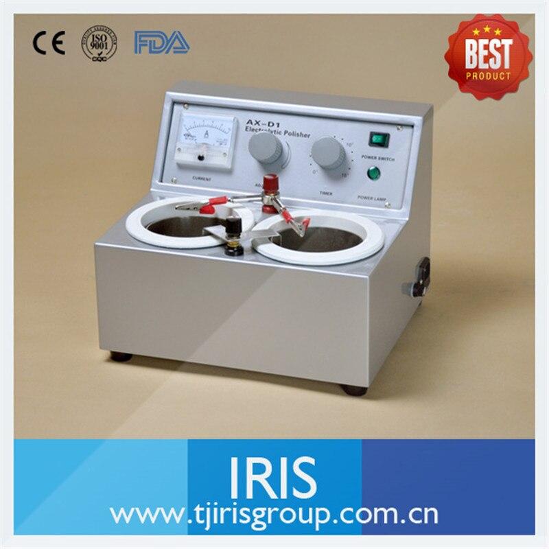 Hot Dental Lab Electrolytic Polisher AX-D1 Equipment Machine For Plaster Model Making Two Water Baths цена и фото