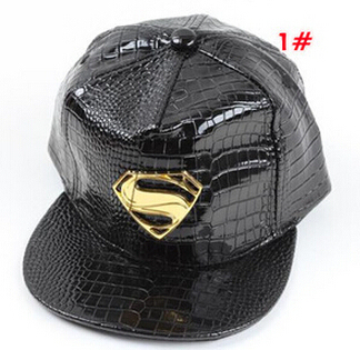 New Style Leather Flat Cap Black Red White Children s Baseball Caps Hip Hop  Snapbacks 06ec01daa1a8
