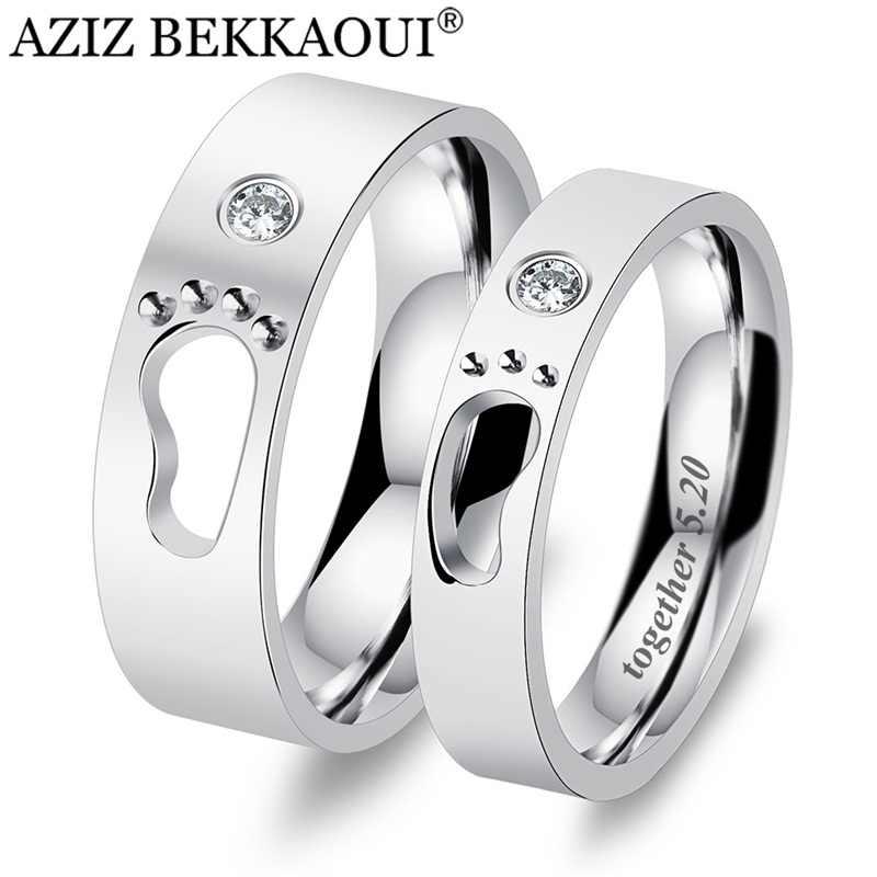 25357d77d613 Ziz BEKKAOUI DIY grabar nombre pareja anillos pies de bebé anillos ...