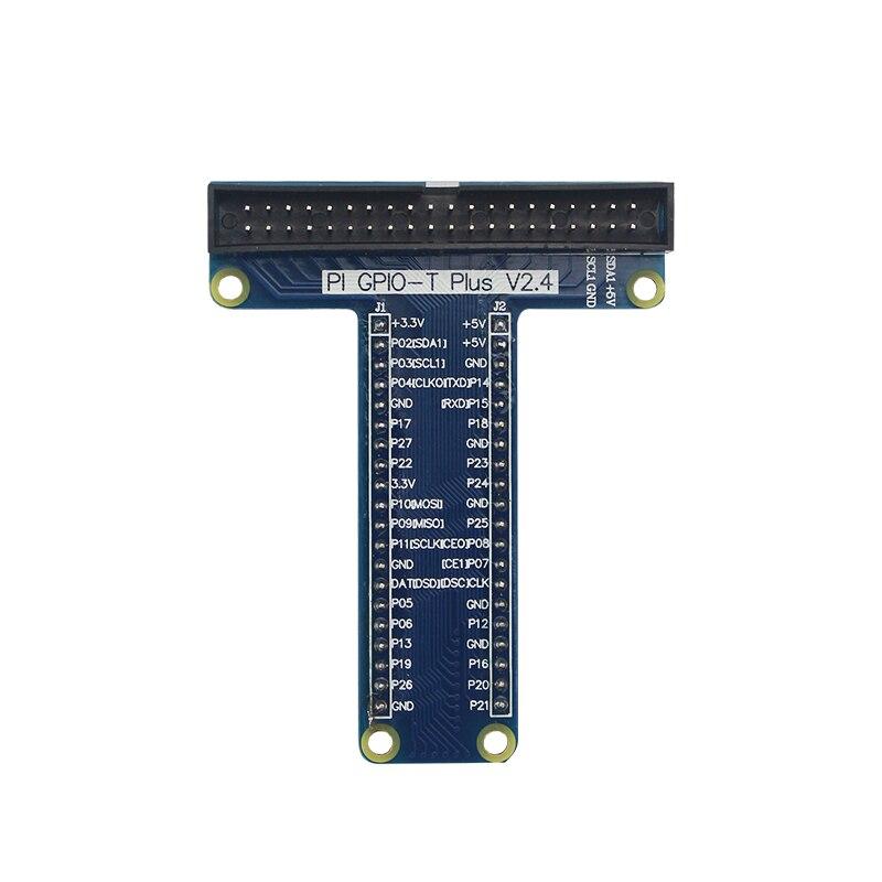 Raspberry Pi GPIO Extension Board Adapter 40 Pin GPIO Cable Module For Orange Pi Plus Raspberry Pi 4/3B+/3Demo Board