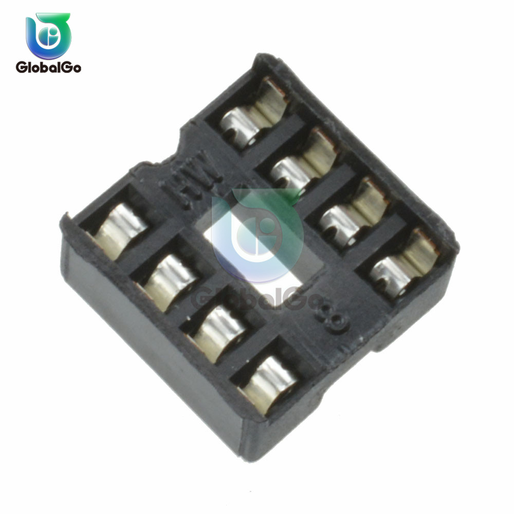 10 Pcs/Lot 8P IC Block Holder DIP8 DIP-8 Socket Adapter Connector