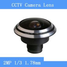 HD 2MP camera surveillance cameras 1/3 1.78mm panoramic fisheye wide-angle CCTV Lenses