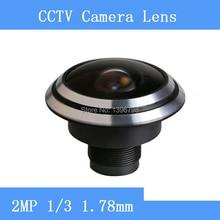 HD 2MP camera surveillance cameras 1/3 1.78mm panoramic fisheye wide-angle CCTV Lenses