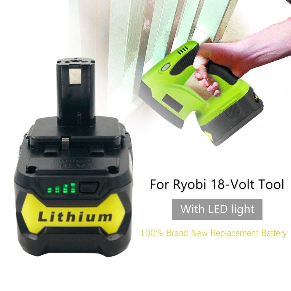 2x AKKU 18V 4000mAh Li-Ion Battery für Ryobi OLT-1830 OPS-1820 ORS-1801 OWD-1801