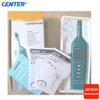 Medidor de humedad de temperatura CENTER315