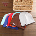 New Spring Baby Candy Color Hat Warm Wool Knitted Caps For Girl Boy Hats Skullies & Beanies Casual Autumn Head Wear Cap WB002