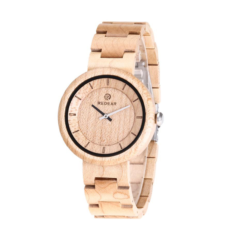 Wooden Men's Watch Two needle Simple Business Walnut Watch Personality Fashion Quartz Wristwatches Free Shipping Sale