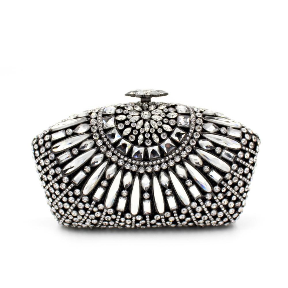 2017 luxury sector diamond day clutches full diamonds ladies evening bags handbags women single shoulder handbag purses sacs цена и фото