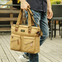 Купить с кэшбэком Retro Men Canvas Travel Bags Large capacity leisure Carry on Casual vintage Luggage Bag Messenger Crossbody bags