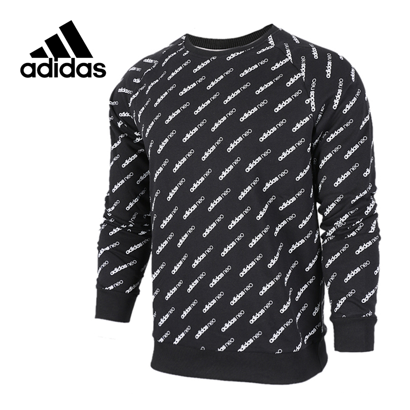 Adidas Original  New Arrival Official NEO Label Men's Pullover Jerseys Sportswear BK6895 original adidas men s knitted pullover ab4373 ab4374 jerseys sportswear free shipping