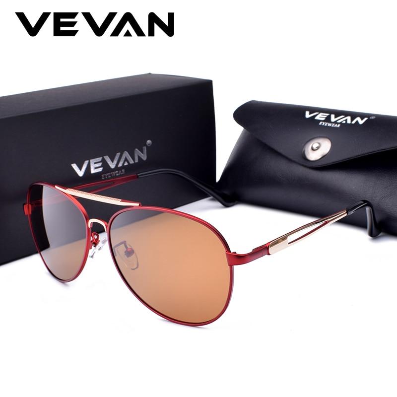 Vevan 2018 جودة عالية الطيار يستقطب نظارات - ملابس واكسسوارات