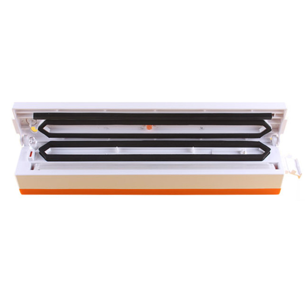 Vacuum Food Sealer Electric Food Packaging Machine 100W 220V Automatic Food Processor Kitchen tools household vacuum packaging sealing machine sealer wet and dry use 30cm 110w 220v