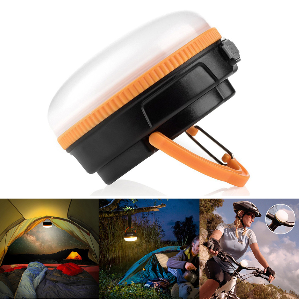 Outdoor Portable Emergency Camping Tent Lamp Hanging Soft Light LED Camp Tools Bulb Lamp Fishing Lantern lamp By AAA Battery outdoor camping light camping lamp night market stall tent lamp home emergency lamp charging led lamp mobile power function