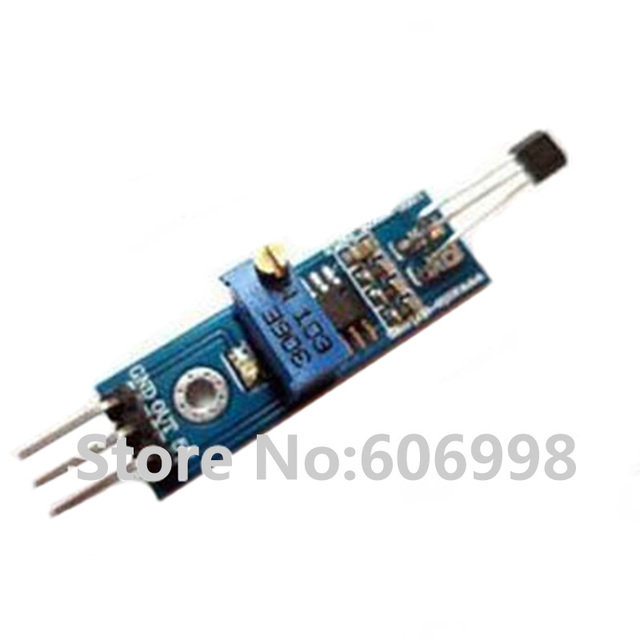 Hall Sensor Module Magnetic Swich Speed Counting Sensor Module speed Counter Detection Sensor Module 3144  LM393