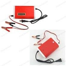 Цифровой ЖК-дисплей Автомобильные аккумуляторы Зарядное устройство свинцово-кислотная мотоцикл автомобиль Мощность питания 12-24 В 10A