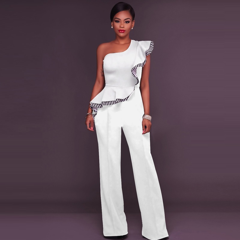Fashion One: Sexy Off Shoulder Rompers Womens Jumpsuit Pants 2018