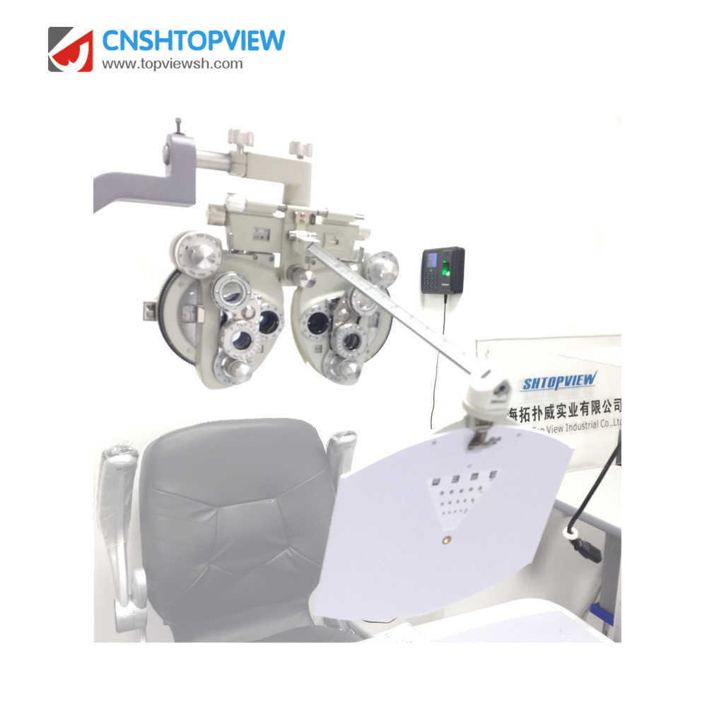 ML-400 ML400 White Color Ophthalmic Device Manual Phoropter visual tester