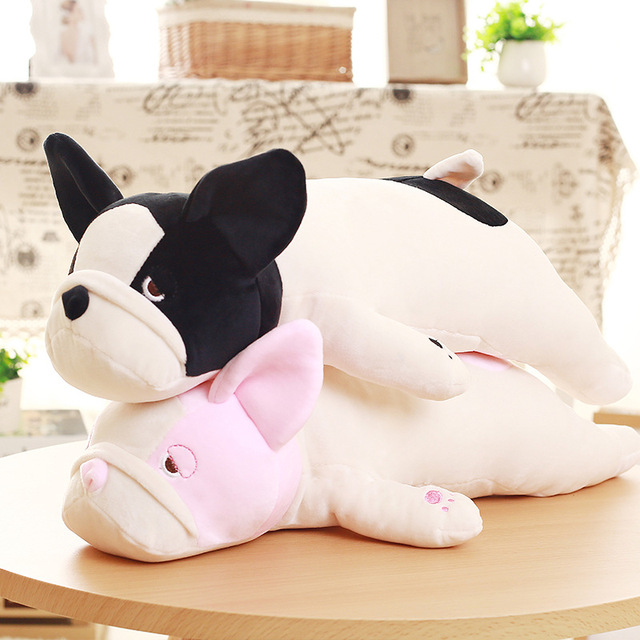 Us 15 99 50cm Simulation Dog Siberian Husky Plush Kids White Black White Toy Soft Stuffed Animal Sleeping Doll Birthday Gifts Pet Dog C58 In Stuffed