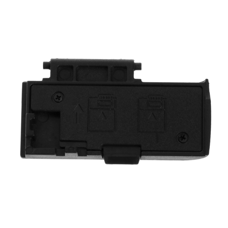 Crust Pro New Battery Cover Lid Snap Cap Replacement <font><b>Parts</b></font> For <font><b>Canon</b></font> <font><b>EOS</b></font> <font><b>550D</b></font> Camera <font><b>Repair</b></font> Black Battery Door Cover image