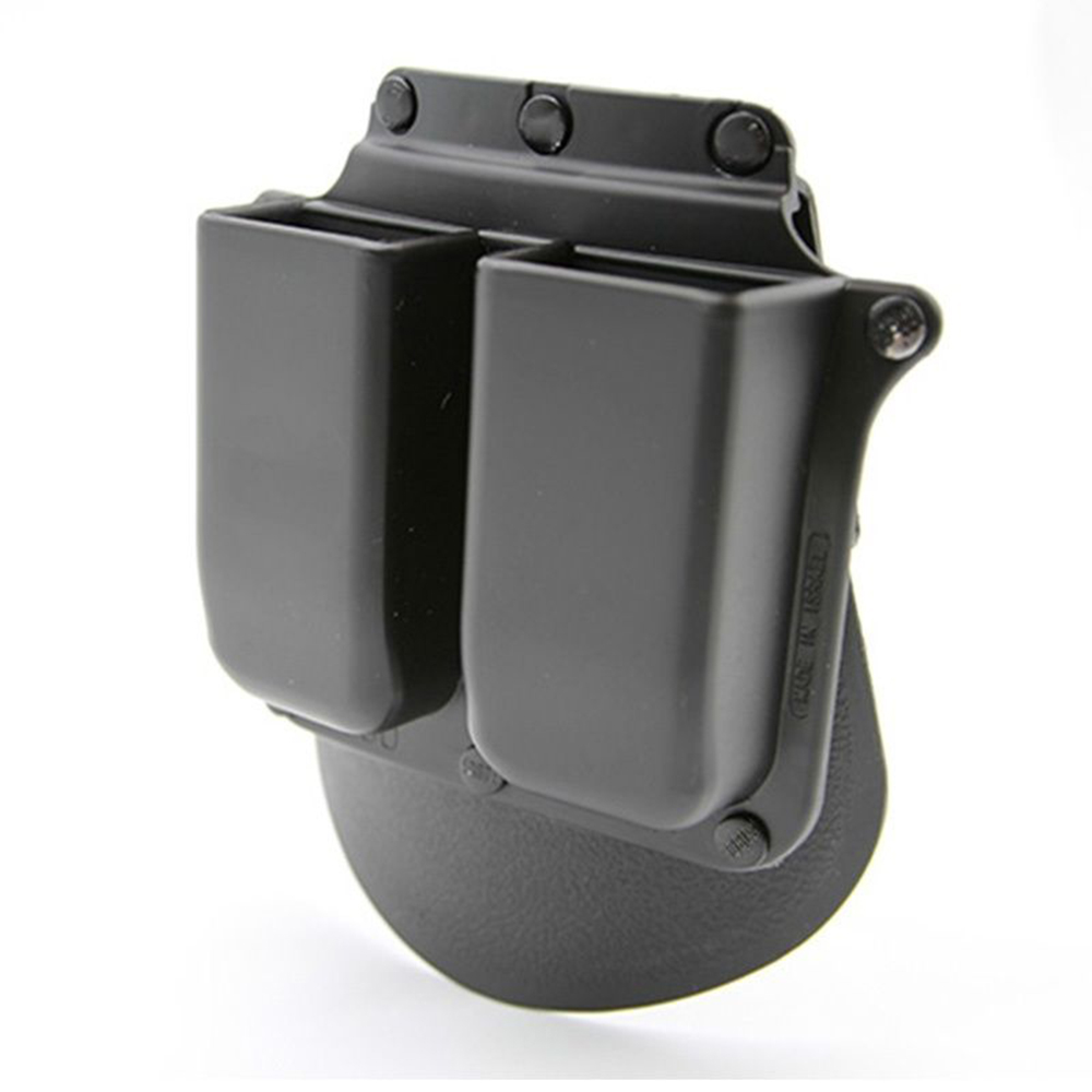 Military 6900 Paddle Double Magazine Pouches Holders For Glock 9mm .40 Cal Mags Single Pistol Magazine Pouch Hunting bag NEW image