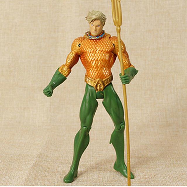 Wonder Woman Batman Aquaman Action Figure Green Lantern Cyborg Justice-League 18 CM