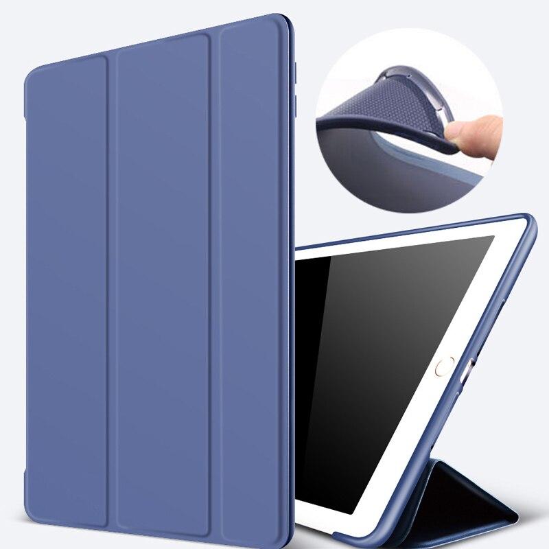 Pentru iPad 9.7 Case 2017 2018 Carcasă inteligentă Ultra Slim 3 - Accesorii tablete