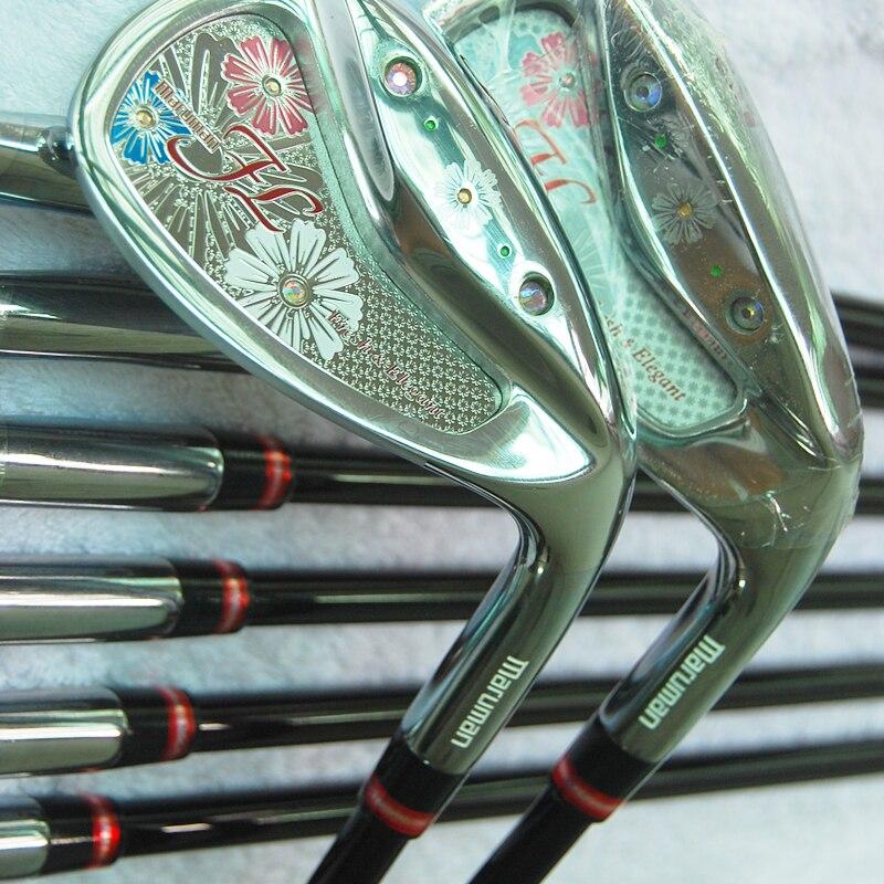 Cooyute nuevos clubes de golf maruman fl hierros del golf fijaron 5-9.p.a.s regu