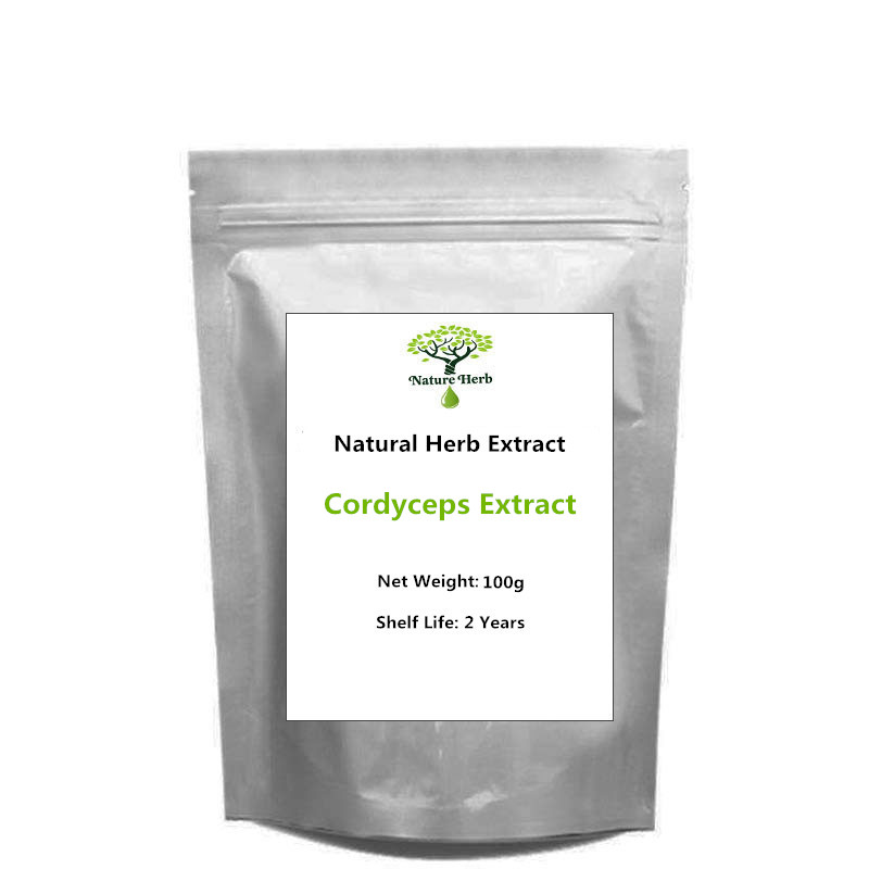 Best Selling 100g 1000g Pure Natural Cordyceps Extract Powder