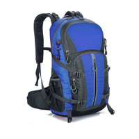Men's Big large capacity waterproof nyion sports double shoulder bag pack outdoor sporting camping hiking wearable 40L backpack