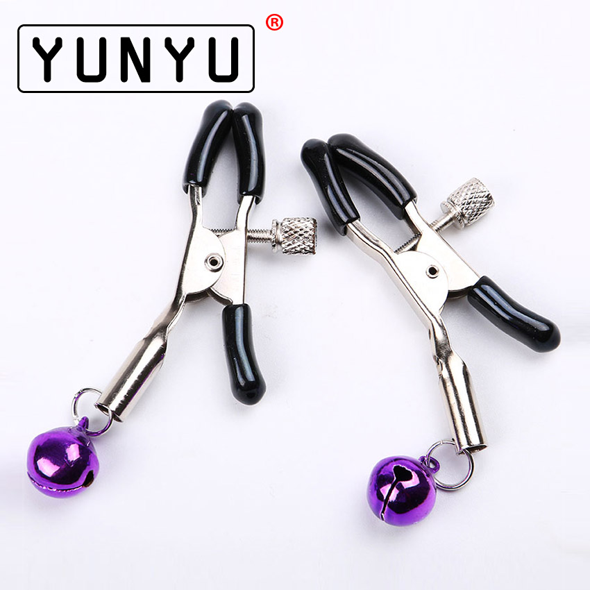 1 Pair Metal Sexy Breast Nipple Clamps Small Bell Adult Game Fetish Flirting Teasing Sex Toys for Couples1 Pair Metal Sexy Breast Nipple Clamps Small Bell Adult Game Fetish Flirting Teasing Sex Toys for Couples
