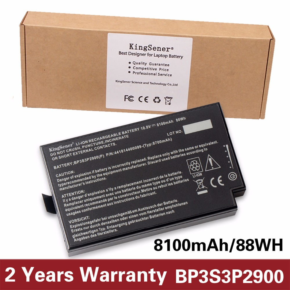 купить 10.8V 8100mAh KingSener New Laptop Battery for Getac B300 B300X Rugged Notebook BP3S3P2900 4418144000490 Free 2 Years Warranty по цене 4649.67 рублей