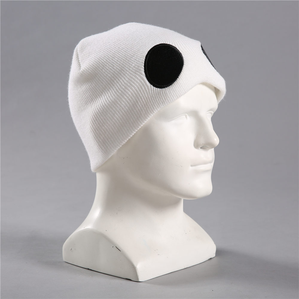 Sun and Moon Cosplay Hats Team Skull Grunt Embroidery Embroidered Beanie Knit Cap(China)