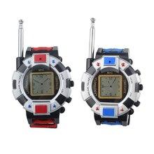 KEOL 2 шт. детская игрушка Walkie Talkie ребенок наручные часы переговорные открытый