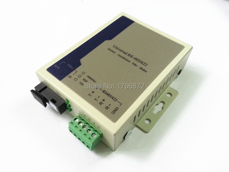 1pair Rs485/422 To Optic Fiber Modem Singlemode Sc 20km Rs485/422 To Ethernet Fiber Converter Fiber Optic Equipments Back To Search Resultscellphones & Telecommunications