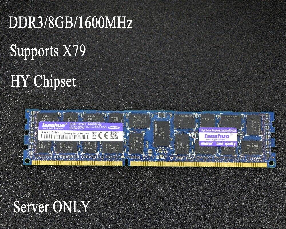 Original chipsatz 8 gb DDR3 1333 mhz 1600 mhz 1866 mhz 8g 1333 1600 1866 REG ECC server speicher RAM 8 gb 16 gb 8g 16g unterstützt X79 X58