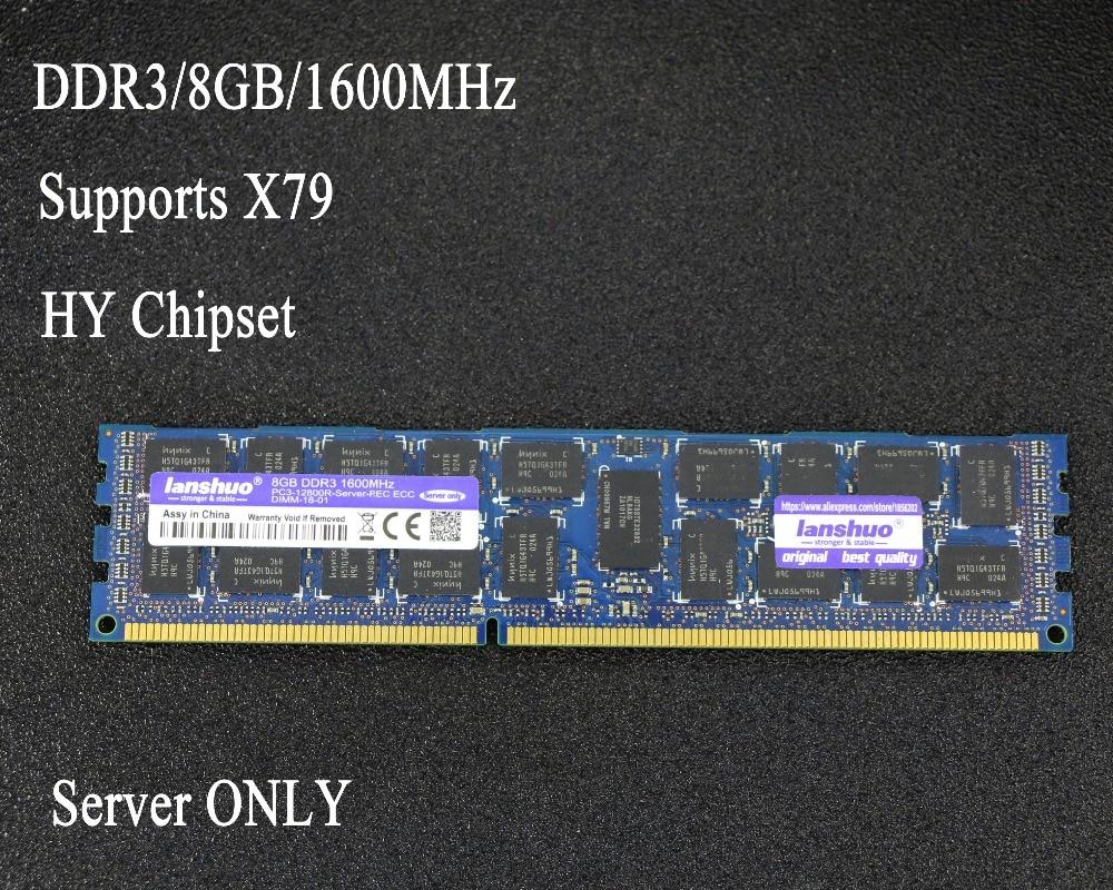 Original chipset 8GB DDR3 1333MHz 1600MHz 1866MHz 8G 1333 1600 1866 REG ECC server memory RAM 8GB 16GB 8G 16G supports X79 X58 samsung server memory ddr3 8gb 16gb 1600mhz ecc reg ddr3 pc3 12800r register dimm ram 240pin 12800 8g 2rx4 x58 x79