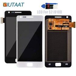 Wymiana wyświetlacza LCD do Samsung Galaxy SII S2 i9100 wyświetlacz LCD ekran dotykowy LCD Digitizer zgromadzenia + narzędzia do naprawy w Panele dotykowe do telefonów komórkowych od Telefony komórkowe i telekomunikacja na