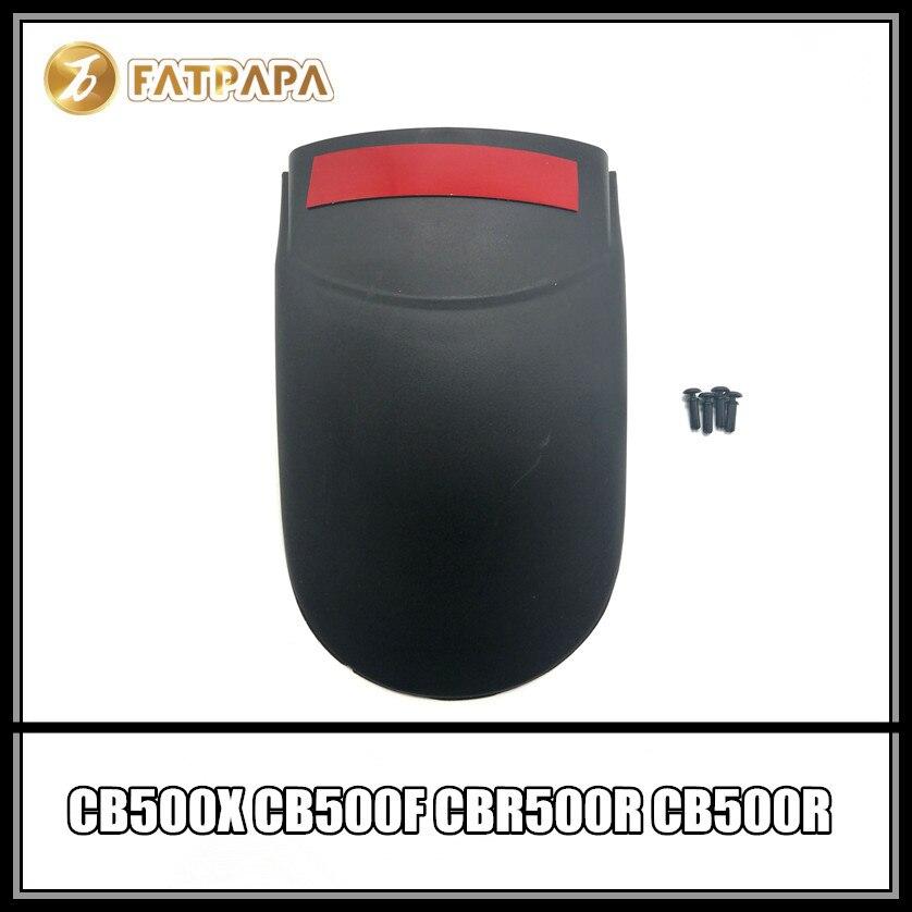 CB500 CBR500 accesorios de la motocicleta ABS carenado alargar hace Fender Reflector para Honda CB500X CB500F CBR500R CB500R