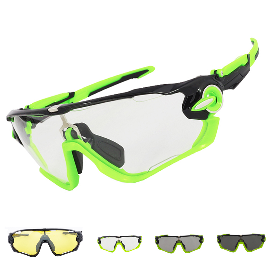 New Clear Photochromic Brand Cycling Glasses Men Women Bike Goggles Sport Bicycle Night Sunglasses Racing Eyewear with 3 Lens 2016 new fashion sunglasses women brand designer sun glasses vintage eyewear