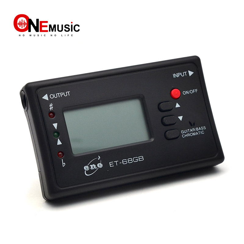 buy eno et 68gb auto digital tuner chromatic guitar bass tuner from reliable. Black Bedroom Furniture Sets. Home Design Ideas