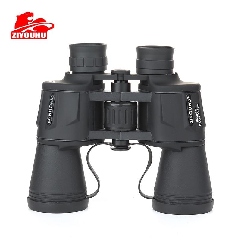 ziyouhu 20x50 binoculos telescopio para a caca de acampamento viagem ipx4 a prova dwaterproof agua bak4