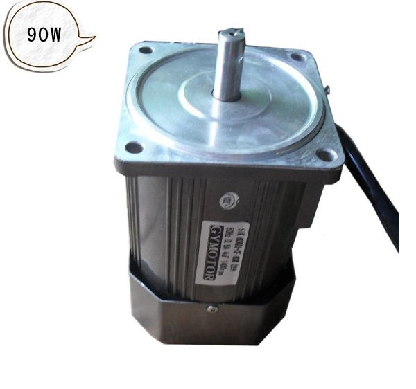 AC 380V 90W three phase motor without gearbox. AC high speed motor,