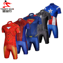 2016 New Arrival ! Super Hero Cycling Jerseys Summer Breathable Ropa Ciclismo Bike Sports Clothing Cycle Bicycle Clothes