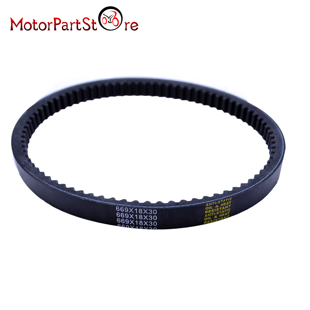 669 18 30 CVT Drive Belt for GY6 49cc 50cc Engine Chinese Moped Scooter Roketa TaoTao Sunl Vespa Jonwaygines $ ...
