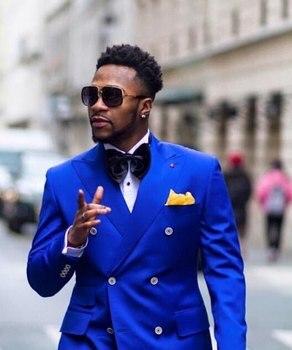 Brand New Mens Dinner Party Prom Suits Groom Tuxedos Groomsmen Wedding Blazer Suits (Jacket+Pants+Girdle+Tie) K:1438